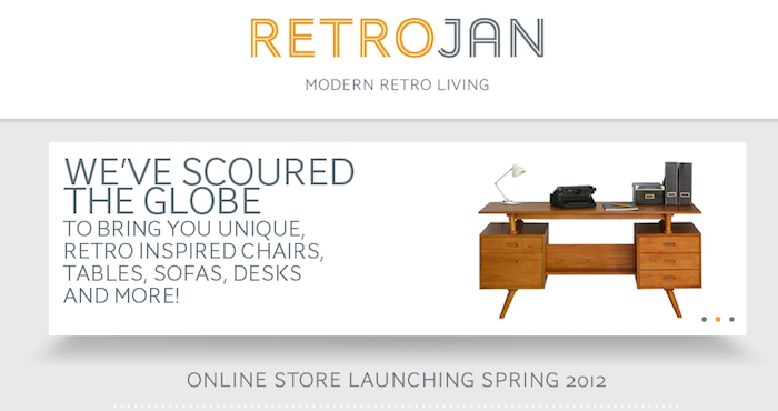 Retrojan product branding and website copywriting